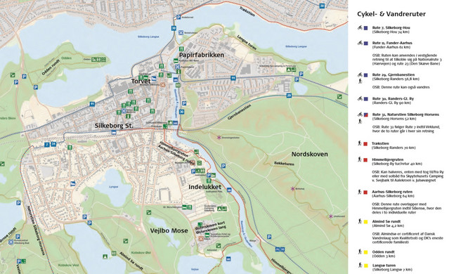 Turist I Silkeborg